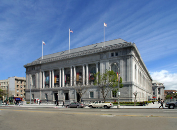 舊金山亞洲藝術博物館外部。