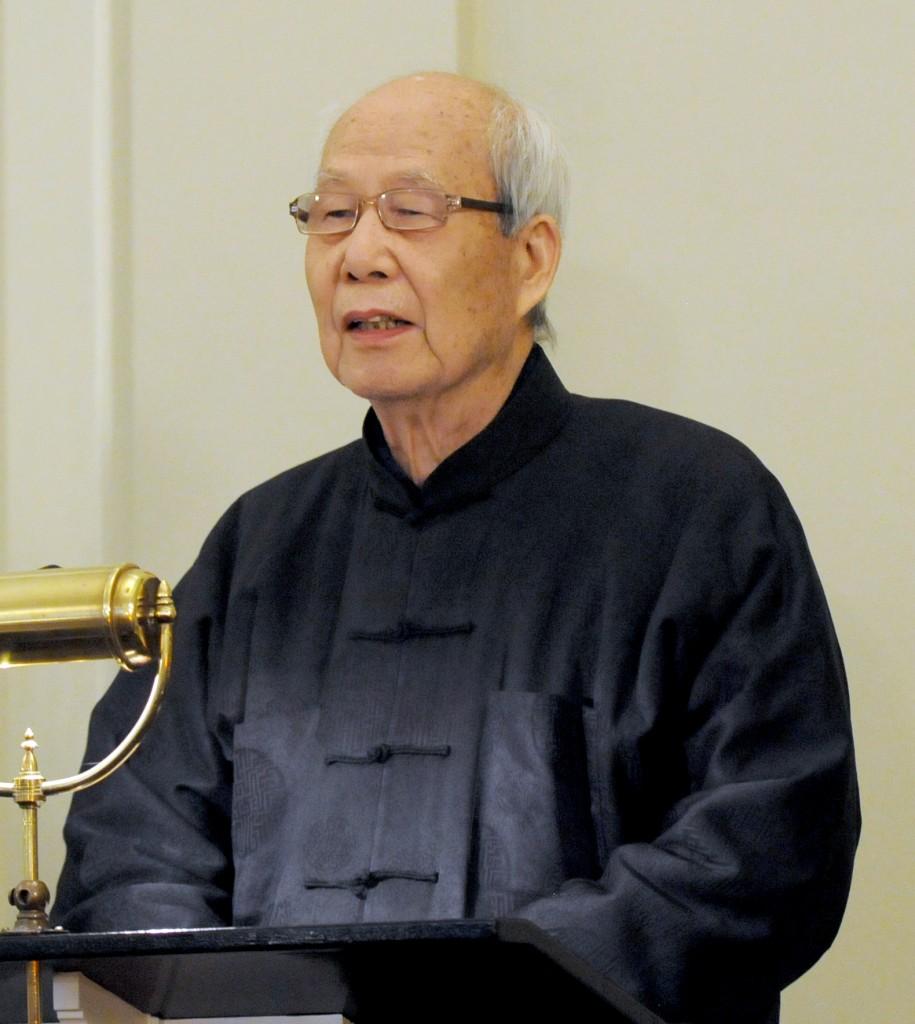 王鼎鈞在夏志清教授告別式上獻悼辭