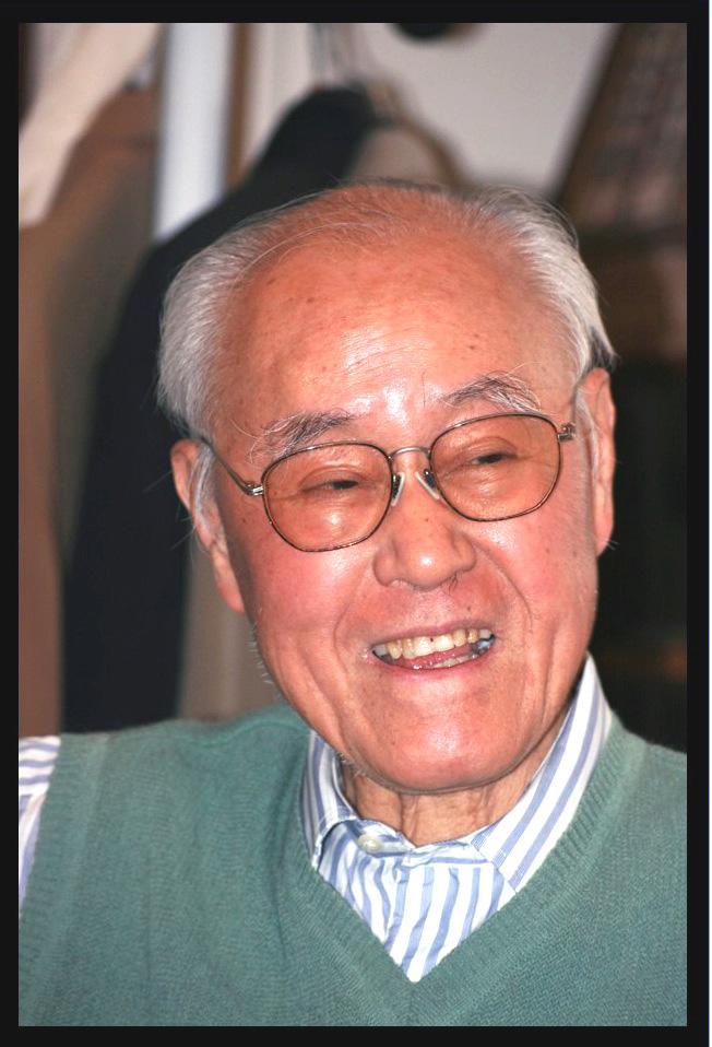 夏志清(1921-1913) 攝影:姚嘉為