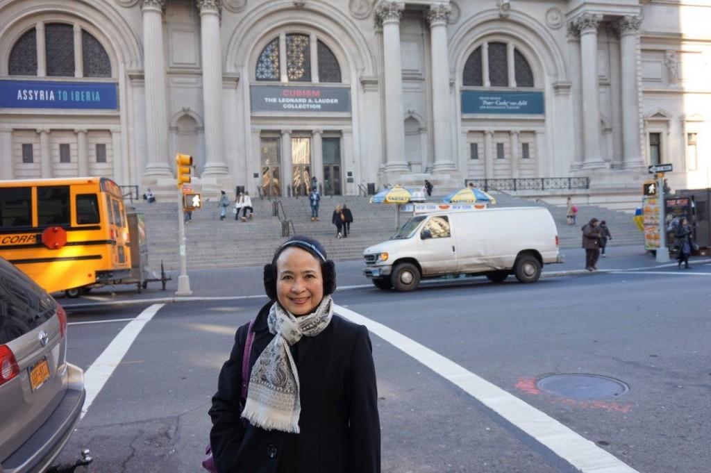 紐約的大都會藝術博物館 (江明健攝影)