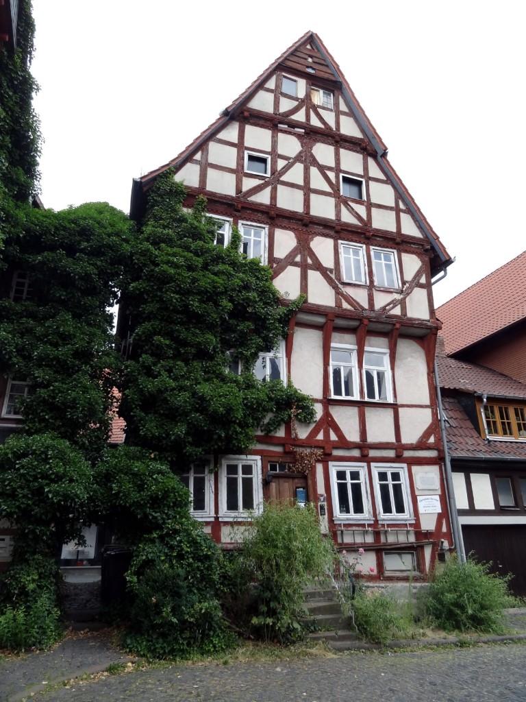 阿爾斯菲德爾小鎮中世紀木架屋
