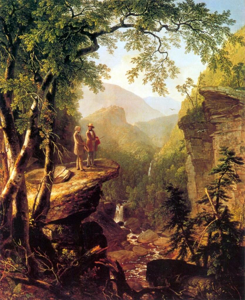 艾許‧杜蘭 〈親近心靈〉1849 油彩畫布
