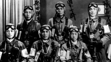 日治時代駐守台灣的日本敢死隊員